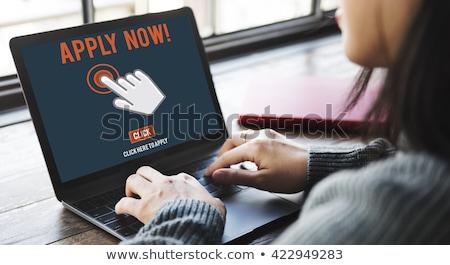 Apply Now Concept on Laptop Screen. Stock photo © tashatuvango