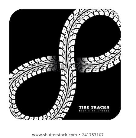 pneu · lama · vetor · carro · estrada · esportes - foto stock © sarts