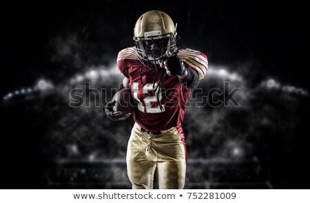 определенный американский футболист черный профессиональных Сток-фото © wavebreak_media