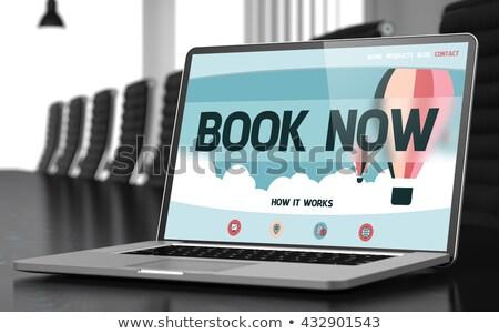 Buy on Laptop in Meeting Room. 3D. Stock photo © tashatuvango