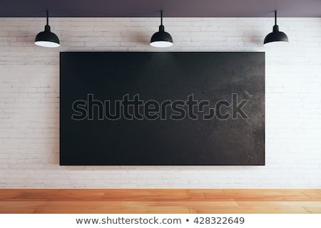 portfolio on black chalkboard 3d rendering stock photo © tashatuvango