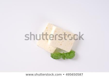świeże dwa sztuk bazylia biały Zdjęcia stock © Digifoodstock