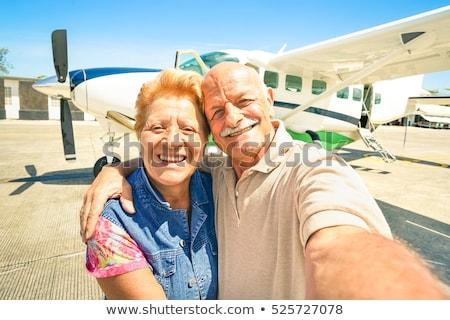 Lotu około świat jasne podróży działalności Zdjęcia stock © JanPietruszka