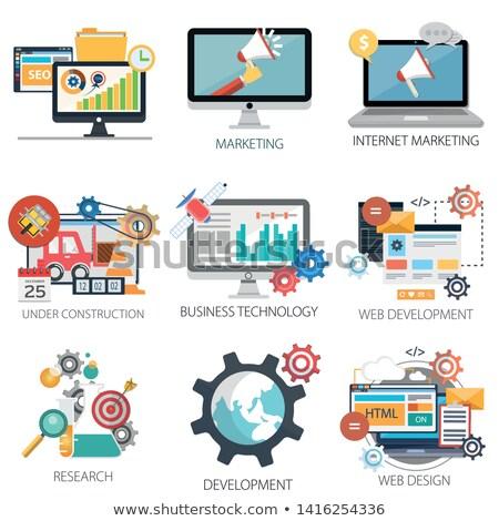internet marketing   business concept stock photo © tashatuvango