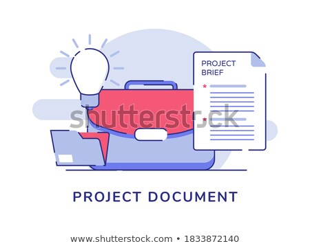 Approved Concept. Folders in Catalog. Stock photo © tashatuvango