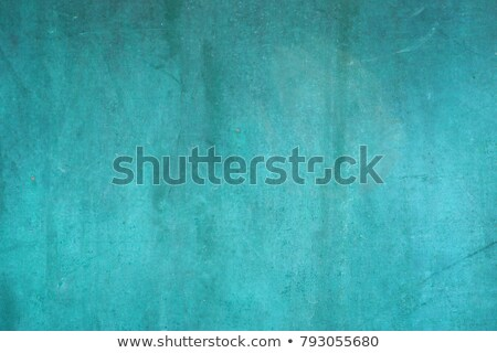 Blue Patina Wall Stock photo © FOTOYOU