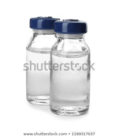 medical vials isolated stock photo © klinker