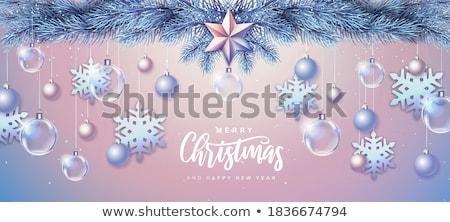 陽気な クリスマス モノクロ スケッチ パッチ バッジ ストックフォト © frescomovie