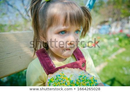 weinig · Pasen · nest · wafel · snoep · voorjaar - stockfoto © barbaraneveu