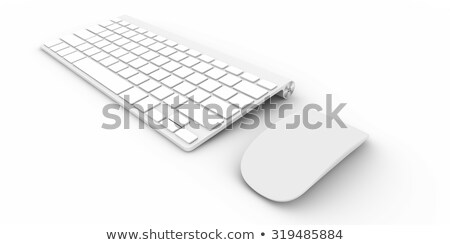 Controlling - Text on the White Keyboard Button. 3D. Stock photo © tashatuvango