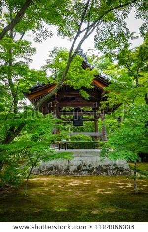 Bel tempel kyoto Japan gouden bos Stockfoto © daboost