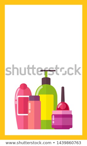 Stock fotó: Kozmetikai · bőrápolás · higiénia · karbantartás · promo · szalag