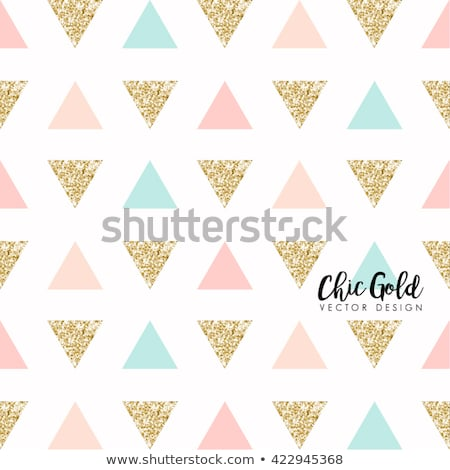 Mínimo triángulo patrón diseno pastel colores Foto stock © SArts