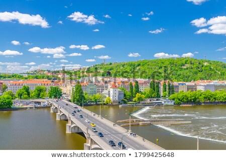 View from Jiraskuv bridge Stock photo © Givaga