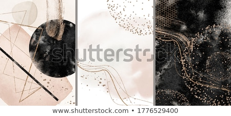Abstrakten Textur modernen Kunstwerk gemischte schwarz Stock foto © marylooo
