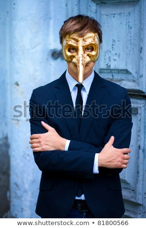 venetian masks stand stock photo © neirfy