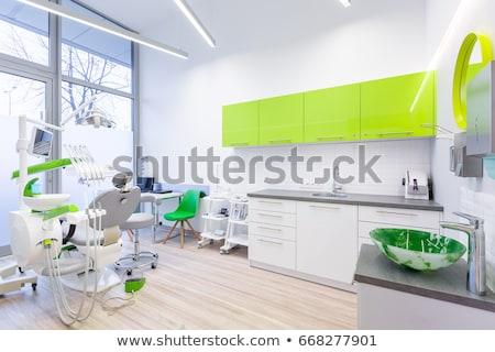 intérieur · nouvelle · modernes · dentaires · clinique · bureau - photo stock © boggy