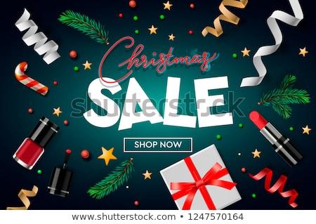 クリスマス · 販売 · バナー · 星 · 背景 - ストックフォト © ikopylov