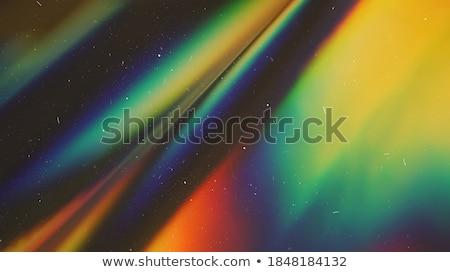 ベクトル · 抽象的な · ホログラフィック · パステル · 背景 · 虹 - ストックフォト © romvo