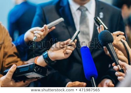 Közönségszolgálat szöveg notebook kávésbögre oszlopdiagram kördiagram Stock fotó © Mazirama