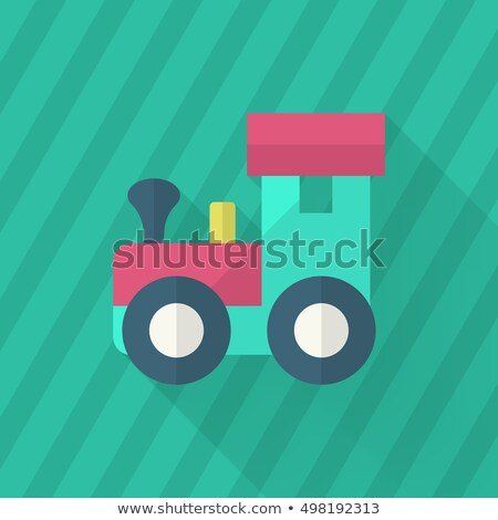 Construction Game Vector. Developing Child Toy. Structure Symbol. Isolated Flat Cartoon Illustration Stock photo © pikepicture