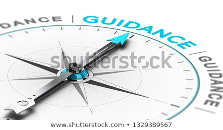 Esoteric or Spiritual Guidance. Abstract Compass Concept. Stock photo © olivier_le_moal