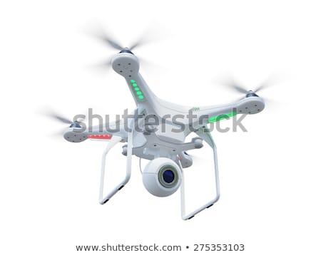 vliegen · hemel · video · blauwe · hemel · technologie · oranje - stockfoto © adamr