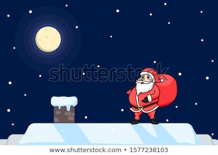 Рождества · подарок · дымоход · красочный · икона · знак - Сток-фото © robuart
