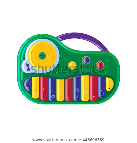 Synthesizer toy icon Stock photo © angelp