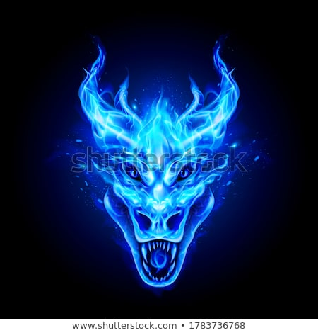 blue dragon stock photo © colematt