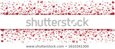 Mothersday Confetti Hearts Header Stock photo © limbi007
