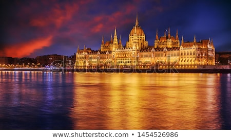 budapest in evening stock photo © givaga