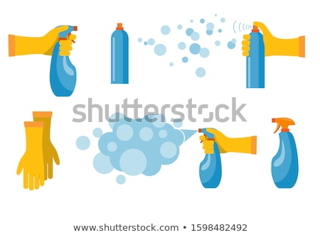 Plastic Container for Chemical Liquids Color Icon Stock photo © robuart