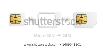 5G Mobile Phone Simcard Stock photo © AndreyPopov