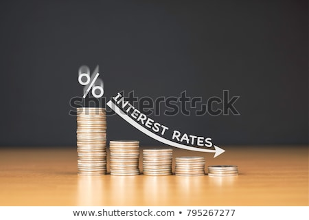 Interest Rate Decrease Concept Stock photo © AndreyPopov