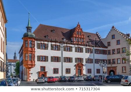 Германия дворец небе город окна путешествия Сток-фото © borisb17