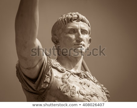 Roman forum. Imperial forum of Emperor Augustus. Rome, Stock photo © Zhukow