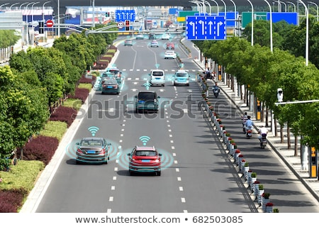 Smart Car, City Transportation Electric Automobile Stock photo © robuart