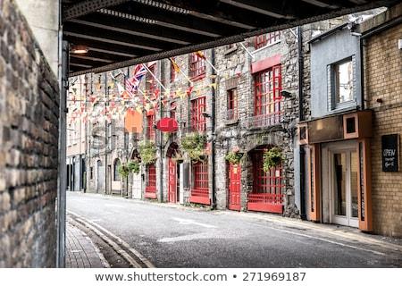 Templom bár utca Dublin Írország város Stock fotó © borisb17