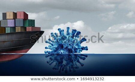 Shipping Disease Risk Stock photo © Lightsource