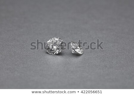 Stock photo: Big and small diamond