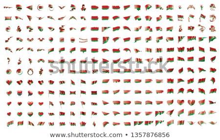 большой коллекция вектора флагами Беларусь флаг Сток-фото © butenkow