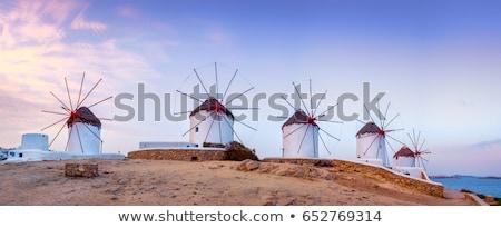 Tradycyjny grecki wyspa Świt Grecja sceniczny Zdjęcia stock © dmitry_rukhlenko