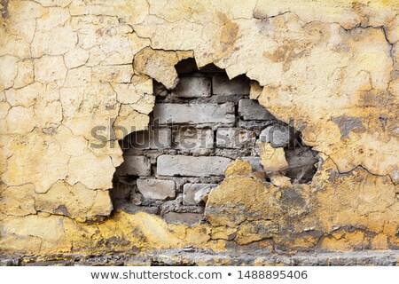 Crumbling wall Stock photo © trgowanlock