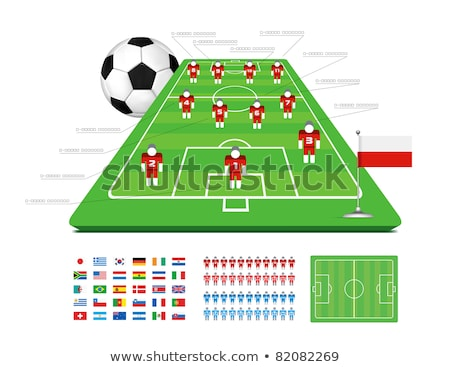 Soccer Tactical Kit Stock photo © m_pavlov