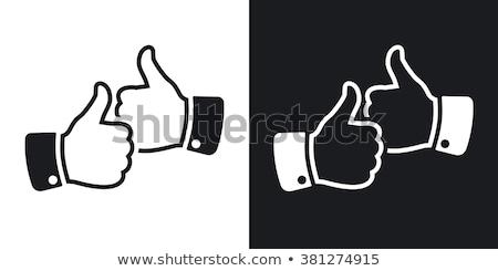 Two Thumbs Up Stock photo © SimpleFoto