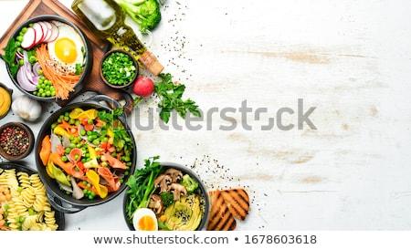 Válogatás tányér parmezán sajt paradicsom Stock fotó © aladin66