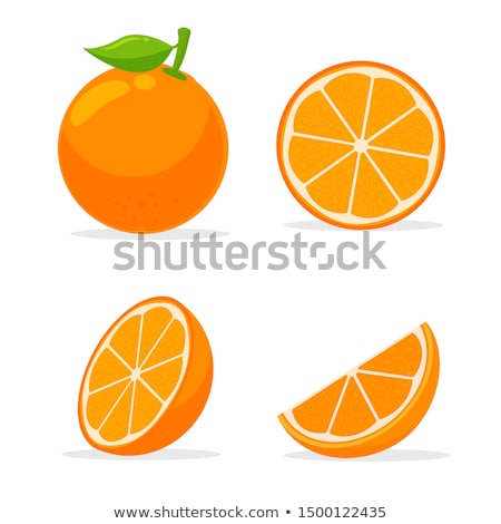 вектора · оранжевый · ломтик · текстуры · продовольствие - Сток-фото © Mcklog