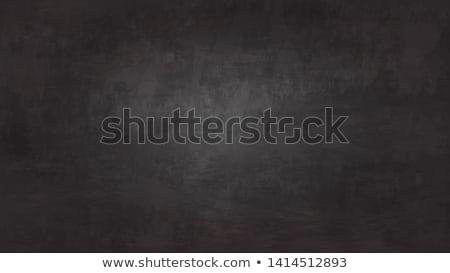 Chalk menu board and chalk Stock photo © posterize