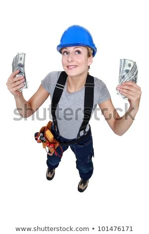 Numerário construção trabalhador trabalho seis Foto stock © photography33